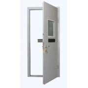 Дверь с кассовым модулем
