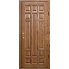 Входные металлические двери массив дуба