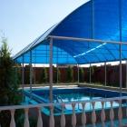 Беседки, павильоны, навесы из поликарбоната для бассейнов
