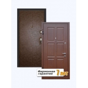 Металлическая входная дверь с отделкой МДФ ПВХ и винилискожей
