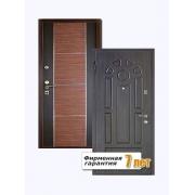 Входная металлическая дверь с отделкой МДФ ПВХ