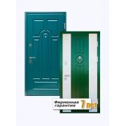 Входная металлическая дверь, облицованная окрашенным по каталогу RAL МДФ