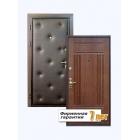 Входная стальная дверь с отделкой винилискожей и пластиком