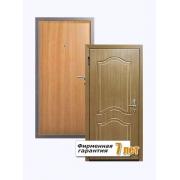 Входная металлическая дверь с отделкой МДФ шпон и ламинированной панелью