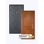 Стальная дверь эконом с отделкой МДФ с внутренней стороны и винилискожей с внешней