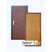 Стальная ламинированная дверь, облицованная с внешней стороны винилискожей