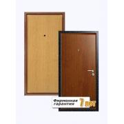 Входная металлическая дверь с отделкой ламинированной панелью