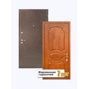 Входная металлическая дверь с отделкой МДФ с внутренней стороны и порошковым напылением с внешней