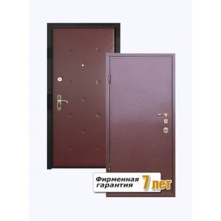 Входная металлическая дверь порошок-винилискожа