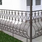 Металлические кованые ограждения, ограды и заборы