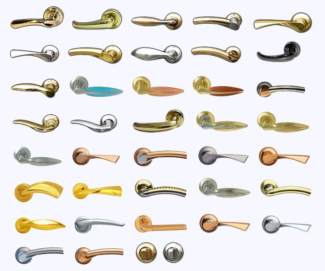 нестандартные дверные ручки
