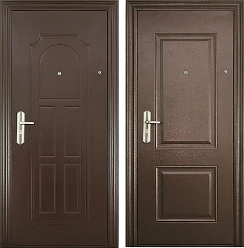 двери стальной профиль легкие