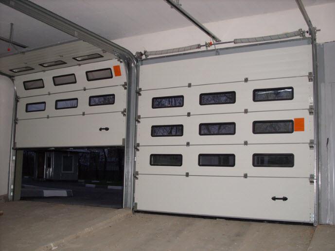 секционные ворота для иных помещений
