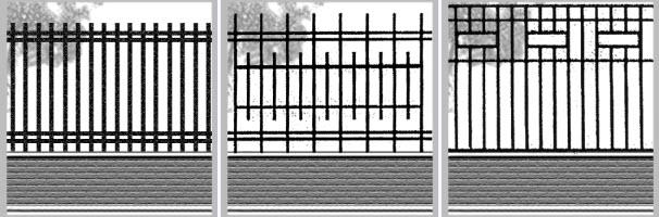 эскизы сварных ворот