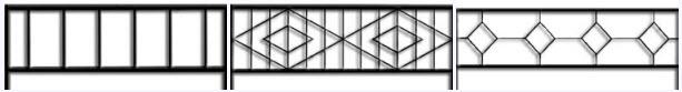 эскизы секций сварных ворот
